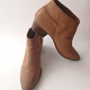 Circus by Sam Edelman Tan Suede Heidi Ankle Boots